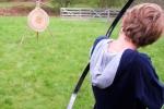 Bogen schießen