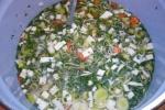 Gemüsesuppe selbstgemacht